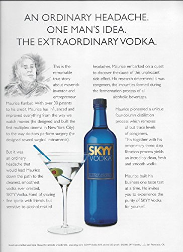 skyy vodka ad Skyy vodka is aiming to establish its roots and boost awareness among   brand's millennial target to pick up specially-marked bottles of the vodka and  enter the pin  who won at the 2018 national advertising challenge.