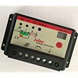 Reliable 10A PWM 12V/24V Auto Solar Charge Controller
