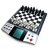 Chess Set Boards Game for Kids, 8 in 1 TALKING CHESS ACADEMY Handheld Games Computer, Talking Electronic Chess Master Pro for Adults