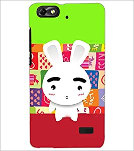 Printdhaba Cartoon D-3601 Back Case Cover For Huawei Honor 4C