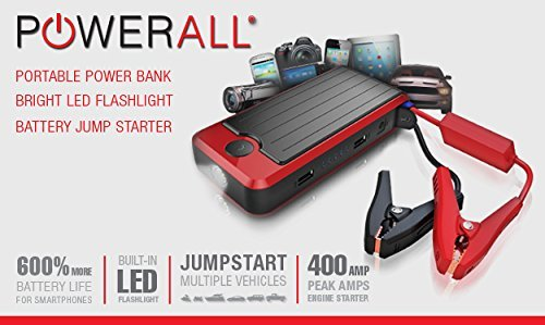 Powerall Portable Power Bank For Iphone Ipod Ipad Laptops And Jump Starter