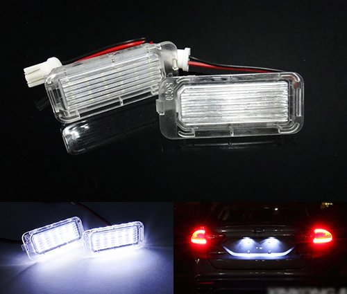 2x-luffy-led-licence-number-plate-light-kit-white-no-error-ford-fiesta-focus-c-max-kuga-mondeo-galax