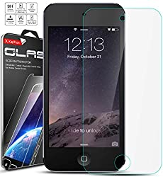 iPod Touch 5 / Touch 6 Screen Protector, Kaptron Tempered Glass Ultra-Clear High Definition Screen protector perfect fit for Apple iPod Touch 5th / 6th Generation