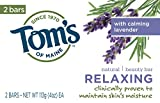 Relaxing Moist Bar Soap Twin Pack Toms Of Maine 2 Bar