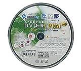 SMARTBUY DVD-R CPRM対応 4.7GB 1回録画用 インクジェットプリンタワイドな印刷対応 1-16倍速 抗菌仕様 スピンドルケース10枚入り SBC16X10PW