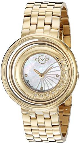 GV2 by Gevril Women's 1602 Vittorio Analog Display Swiss Quartz Gold Watch