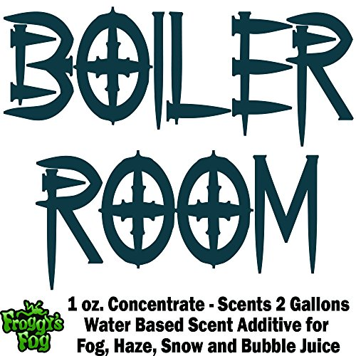 1 oz. BOILER ROOM - Water Based Scent Additive for Fog, Haze, Snow & Bubble Juice - Scents 2 Gallons (Boiler Additives compare prices)
