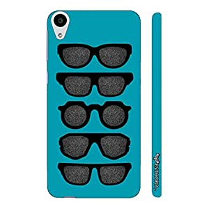 HTC Desire 728 Cool Spectacles designer mobile hard shell case by Enthopia