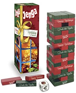 Holiday Jenga