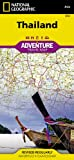Thailand: National Geographic: Adventure Map (National Geographic: Adventure Map (3006))