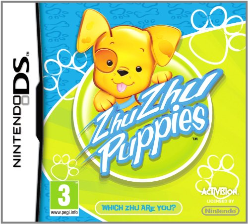 Zhu Zhu Pets: Puppies - Game Only (Nintendo DS)