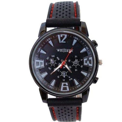 Zps Fashion Military Pilot Aviator Army Silicone Men Outdoor Sport Wrist Watch