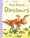 Felicity Brooks First Picture Dinosaurs (First Picture Books)