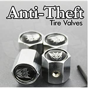 Anti-Theft Locking Tire Valve Decepticon Transformer