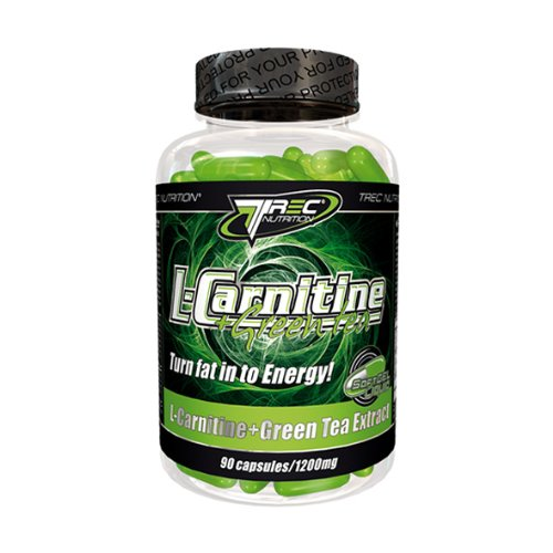 Trec Nutrition L-Carnitine + Green Tea Softgel Capsules x 90 caps (Effective weight loss diet)
