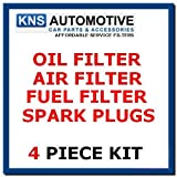 Ford Fiesta mk4,1.25,1.4,1.6 (Zetec Eng) Oil,Fuel,Air Filter & Plugs Service Kit