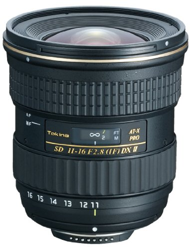 Tokina AT-X PRO 11-16mm F2.8 DXII Lens - Nikon AF Mount Black Friday & Cyber Monday 2014