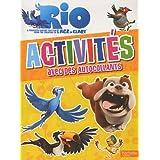 Rio : Mon livre d'activités avec autocollants