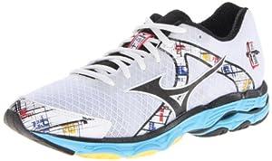 Mizuno Women's Wave Inspire 10 Running Shoe,White,7.5 B US