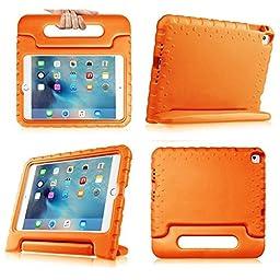 iPad Case,iPad 2 Case,iPad 3 Case,iPad 4 Case - SNOW-Light Weight Shock Proof Convertible Handle Stand Kids Friendly for Apple iPad 2/3/4(Ipad 2/3/4, orange)