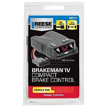 Reese Towpower 8507111 Brakeman IV Compact Brake Control