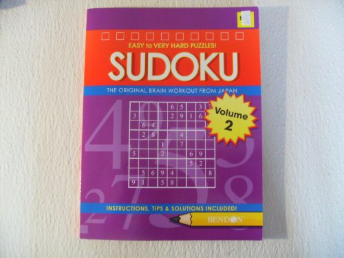 Sudoku Easy to Very Hard Puzzles Volume 2 - 1