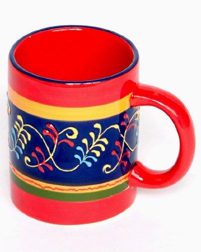 Spanish Mug - Hand Painted - Alegria Azul