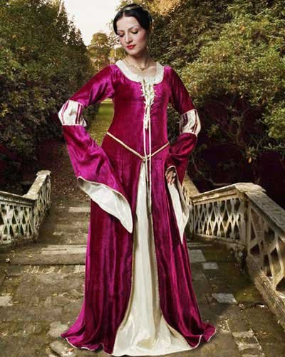 Pirate Wench Peasant Renaissance Medieval Gown Dress Costumes