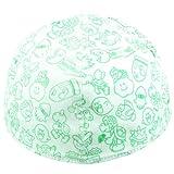 Nintendo 1UP Mushroom Super Mario Flat Brim Fitted Baseball Cap Hat (Green)