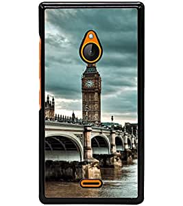 ColourCraft Lovely View Design Back Case Cover for NOKIA XL