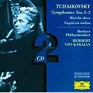 Tchaikovsky: Symphonies Nos.1 - 3; Marche slave; Capriccio italien - BP/ (2 CD's)