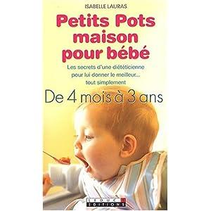 Petits pots maison pour bébé