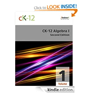 Logo for CK-12 Algebra I - Second Edition, Volume 1 Of 2