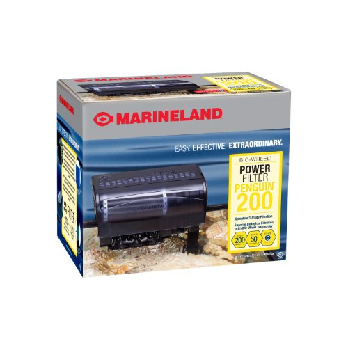 Marineland Penguin 200, Power Filter, 30 to 50-Gallon, 200 GPH, Size C (Water Filter For Aquarium compare prices)