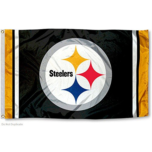 Pittsburgh Steelers Large NFL 3x5 Flag