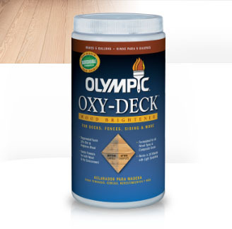 Olympic Oxy-Deck Wood Brightener 2.5lb powder makes 5 gallons for for