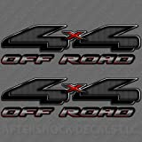 4x4 Truck Sticker Decal Carbon Fiber chevy ford dodge