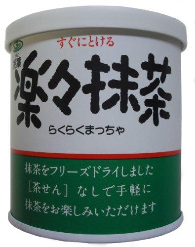 銘葉 すぐにとける 楽々抹茶 40g