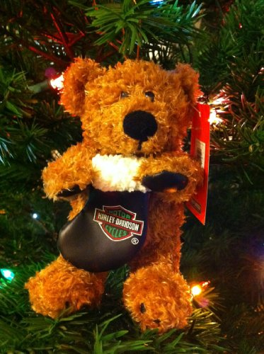 Harley Davidson Ornament Biker Club Holiday Rider