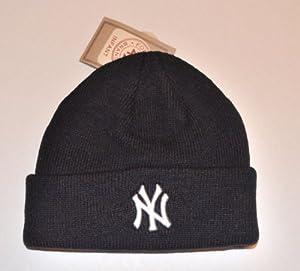 Amazon.com : Infant New York Yankees Black Beanie Hat