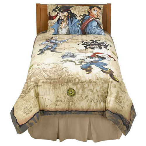 Pirates of the Caribbean Comforter - Twin