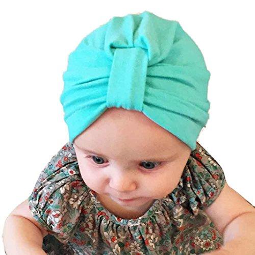 hattoraway-newborn-cute-lovely-soft-cute-hat-baby-girl-hospital-bohemia-hat-green
