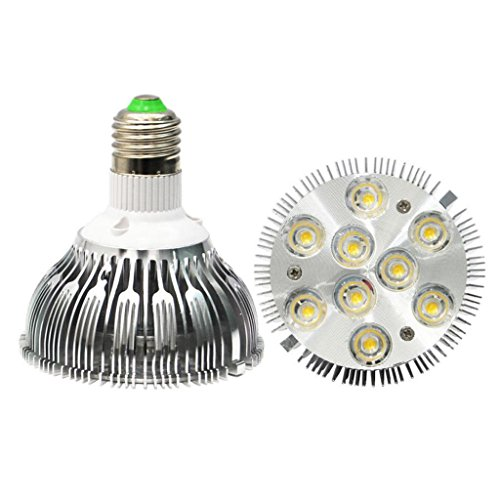 Topled Par30 Dimmable Led Spotlight Bulb 9X2W 1200-1320Lm 120 Degree Beam Angle -Color: Warm White