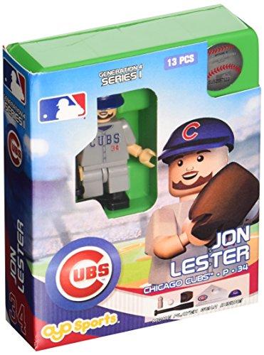 MLB Chicago Cubs Jon Lester Generation 4 Mini Figure, Small, Black - 1