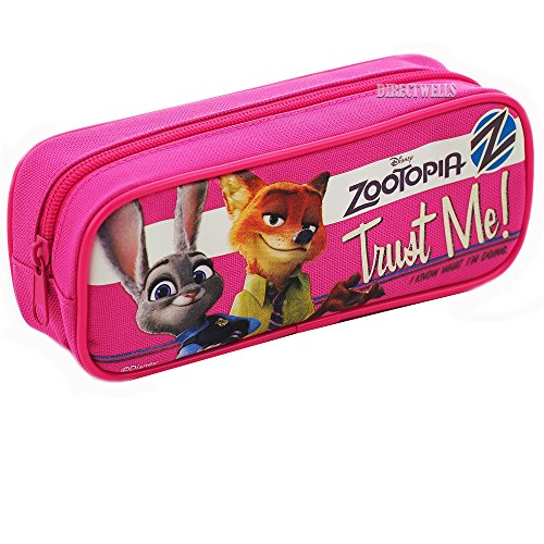 Disney Zootopia Pencil Case (Pink)