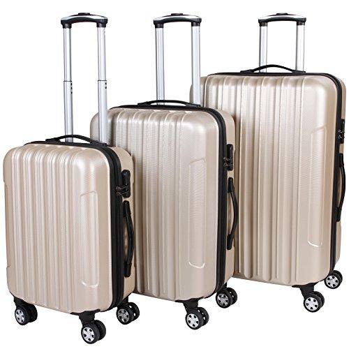 Vojagor-Set-valigie-trolley-guscio-rigido-set-da-3-trolley-SML-colore-a-scelta-CHAMPAGNE