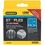 STANLEY Heavy Duty Narrow Crown Stapl...