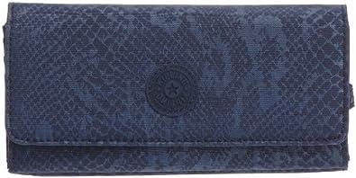 Kipling  BROWNIE Wallets Womens  Blue Blau (Blue Snake) Size: 19x10x3 cm (B x H x T)