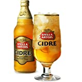 Stella Artois Cidre Pint Glasses CE 20oz / 568ml - Pack of 4 Stella Cider Glasses, Stella Artois Chalice Glasses Stemmed Cider Glasses from Stella Artois Cidre