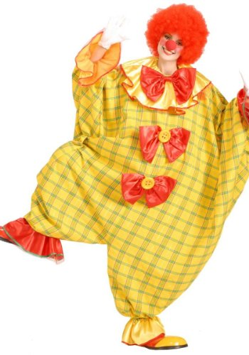 Stretchy the Clown Costume (nose, wig, face paints, gloves, shoes not included)